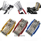 11in1 Multi-function Bike Bicycle  Wrench Chain Cutter Repair Tool kits