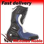 RST R-16 1063 Blue Black White CE CERTIFIED SPORTS AND EVERYDAY MOTORCYCLE BOOTS