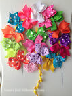 "20 - 3""  Baby,Toddler,Girls Hair bows Alligator clips Grosgrain ribbons Pigtails"