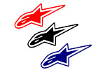 Alpinestars Decal Astar CHOOSE COLOR & SIZE free shipping