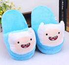 ADVENTURE TIME PANTOFOLE SLIPPERS PELUCHE PLUSH JAKE FINN GAME CIABATTE BABBUCCE