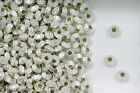 925 Sterling Silver  6.4x4.6mm Fluted Hogan Spacer Beads, Choice of Lot Size