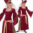 CL844 Lady Anne Game Thrones Renaissance Medieval Queen Fancy Dress Up Costume