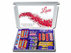 PERSONALISED ❤❤ WITH LOVE ❤❤ GIFT HAMPER FOR HUSBAND or WIFE Chocolate or Sweets