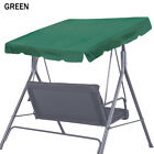 """Patio Outdoor 73x52"""" Swing Hammock Canopy Replacement Porch Top Polyester Cover"""