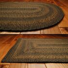 Country Jute Braided Area Throw Rugs Oval Rectangle 20x30 8x10 Salem