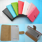 For BLU Energy Smartphone--Folder Flip Folio PU Leather Wallet Case Cover 4G LTE