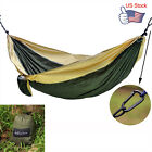 Camping Parachute Portable Nylon Hammock for Travel Yard Beach Siesta Two Person