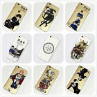 Kuroshitsuji Black Butler iPhone 4s 5s SE 6s 7 Plus Case Silicone TPU Free Ship