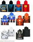 Kids Boys Hooded Poncho Beach Towel Children's Beach Robe Marvel Batman Starwars