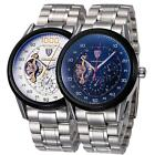 TEVISE Men's Stainless Luminous Life Waterproof Automatic Mechanical Watch V6M2