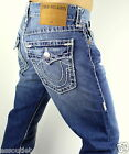 True Religion Men's Ricky Relaxed Straight Super T Jeans - 24859NNBT2