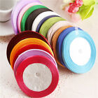10mm 22 Meters Silk Satin Ribbon Wedding Decoration Event Ribbons Gift