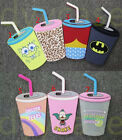 Cute 3D Drink Cup Soft Silicone Back Rubber Phone Cover Case For Apple iPhones