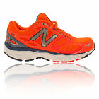 New Balance M680v3 Womens Orange Cushioned Running Sport Shoes Trainers