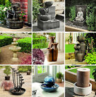 Gardman Indoor & Outdoor Self Contained Mains Operated Water Features
