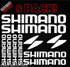 ** SHIMANO **  8 Sticker Pack - Sign Decal Fishing Rod Tackle Box Window