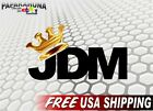 "JDM CROWN 6"" Vinyl Decal Illest Cheech and Chong Momo Low Rider Car Sticker"