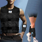 Workout 44LBS/20KG Wieght Vest (Empty)+Leg Ankle Hand Wrist Weights Exercise Fit