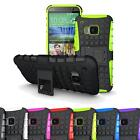 Kickstand Rugged Armor Hybrid Rubber Hard Protective Case Cover for  HTC One M9