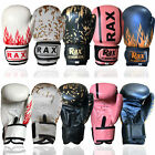 Kids Boxing Gloves Punch Bag Sparring Training Mitts MMA 4 oz 6 oz 8 oz R A X