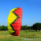 Large 3-5m² 4 Line Power Parachute Kite for Outdoor Kitesurfing Landboarding