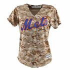 2016 NEW YORK METS MAJESTIC USMC CAMO COOL BASE JERSEY WOMEN'S on Ebay