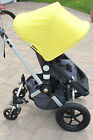 Bugaboo cameleon yellow fleece hood removable lining mosquito net excellent