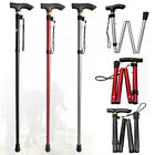 walking sticks - Aluminum Metal Walking Stick Easy Adjustable Folding Collapsible Travel Cane US