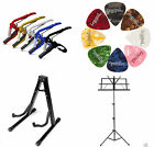 Plectrums, Capo, Guitar Stand, Music Stand UNIVERSAL Sheet Accessories NEW GIFT