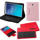 "For Samsung Galaxy Tab E 9.6"" Tab A S2 9.7 Bluetooth Keyboard Folio Leather Case"