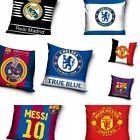 Official Football Club Cushion Pillow Case Cover Real Barcelona Chelsea M United