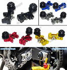 CNC Chain Adjusters with Swingarm Spools Slider Fit 2014-2016 YAMAHA MT-07 FZ-07
