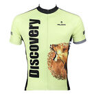 v Men Zebra Lion Short Sleeve Cycling Jersey Bike Bicycle Sportwear Rider D020