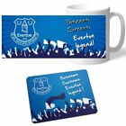 Personalised Everton Signed Legend Mug & Mouse Mat Christmas Offer