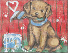 Graffiti Puppy tapestry  20X25CM CANVAS ONLY OR KIT - YOUR CHOICE!