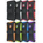 """For Huawei P9 Lite (5.2"""" ) Silicone & PC Bumper Hybrid Rugged Back Case Cover"""