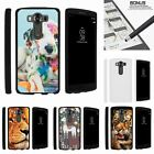 For LG V10| LG G4 Pro| Slim Fit Hard 2 Piece Case Close Up of Animals