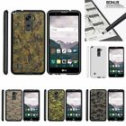 For LG Stylus 2| Stylo 2| Slim Fit Hard 2 Piece Case Abstract Camouflage