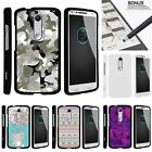 For Droid Turbo 2| Kinzie| X-Force| Slim Fit Hard 2 Piece Case Swamp Camouflage