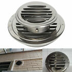 Stainless Circle Air Vent Grille Ducting Ventilation Cover Ceiling Wall 10/15cm