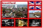 BRENTFORD, LONDON, UK - SOUVENIR NOVELTY FRIDGE MAGNET - SIGHTS / TOWNS - NEW