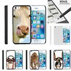 For iPhone SE| iPhone 5| iPhone 5s| Slim Fit Hard 2 Piece Case Silly Animals