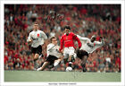 RYAN GIGGS SIGNED PRINT POSTER PHOTO SQUAD MAN UTD MANCHESTER UNITED 90s