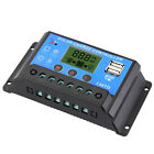 10/20A 12V-24V LCD Display PWM Solar Panel Regulator Charge Controller Timer PWN