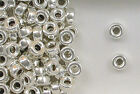925 Sterling Silver 6mm Plain Round Tire Spacer Beads, Choice of Lot Size