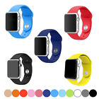 New Sport Silicone Bracelet Strap Band For Apple Watch iwatch 38mm / 42mm