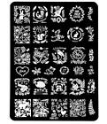 Hot 1pcs Manicure Nail Art Image Stamping Template Patter Design Plate