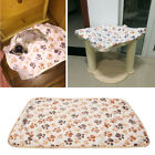 WARM Pet Blanket Touch Soft Warm Mat Dogs Cat  Bed Blanket Mat Coral cashmere #A
