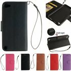 Flip Leather Wallet Photo Card Holder Stand Skin Case Cover For Apple Touch 5 6